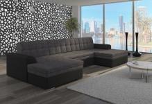 Couch Couchgarnitur Sofa Polsterecke VET 2 Wohnlandschaft mit Schlaffunktion