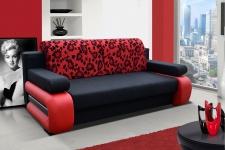 Couch Couchgarnitur Sofa Polstergarnitur LA 04 mit Schlaffunktion Jugendsofa