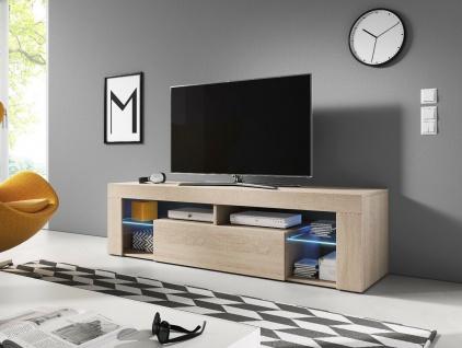 Sideboard Lowboard TV Fernsehschrank EVEREST 160cm Kommode ink LED Highboard NEU - Vorschau 5