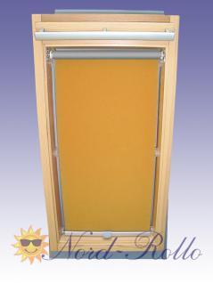 Abdunkelungsrollo Rollo Thermo gelb für Velux DG/RG-EP VL, VG, VX 085 ALU