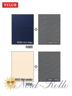 Original Velux Hitzeschutz-Set-Tag Rollo Markise ROP 100 9050 blau/schwarz für GGL/GPL/GHL/GTL/GXL 102/104 - Vorschau 3