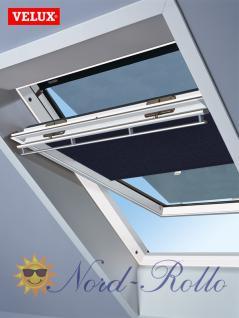 Original Velux Hitzeschutz-Set-Tag Rollo Markise ROP FK00 9050 blau/schwarz für GGL/GPL/GHL/GTL/GXL F04/F06/F08 - Vorschau 1