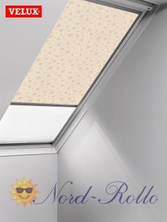 Original Velux Vorteils-Set Verdunkelungsrollo & Faltstore DFD 102 0102S beige/weiß für GGU/GPU/GHU/GTU/GXU 102