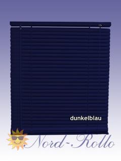 PVC Jalousie Jalousien Jalousette 80 x 160 / 80x160 cm in dunkelblau