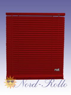 PVC Jalousie Jalousien Jalousette 100 x 220 / 100x220 cm in rot