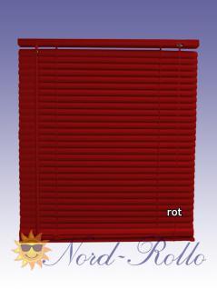 PVC Jalousie Jalousien Jalousette 110 x 160 / 110x160 cm in rot