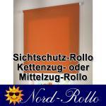 Sichtschutzrollo Mittelzug- oder Seitenzug-Rollo 132 x 130 cm / 132x130 cm 12 Farben
