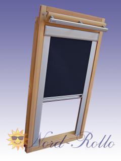 Verdunkelungsrollo Rollo für Roto 410-420 H 10/11 dunkelblau