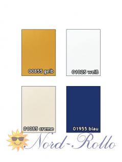 Verdunkelungsrollo Rollo Thermo gelb mit Seitenschienen für Velux DKL Y-EP VL Y,VU Y,VK,VKU Y21 ALU - Vorschau 3