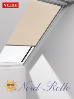 Original Velux Verdunkelungsrollo Rollo solar für GIL/GDL/GEL U31 + 831 - DSL U31 1085 - beige - Vorschau 1