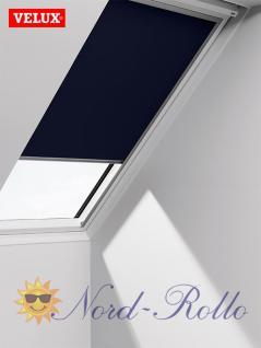 Original Velux Verdunkelungsrollo Rollo solar für GIL/GDL/GEL S31 + 631 - DSL S31 1100 - dunkelblau - Vorschau 1