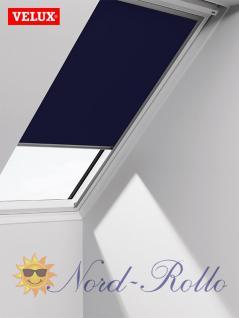Original Velux Verdunkelungsrollo Rollo solar für GIL/GDL/GEL U31 + 831 - DSL U31 2055 - blau - Vorschau 1