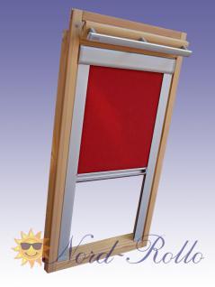 Verdunkelungsrollo Rollo mit Seitenschienen für Velux DKL Y-EP VL Y, VU Y, VK, VKU Y67 - 12 Farben