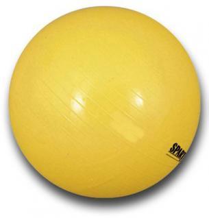 Gymnastikball POWER - gelb - ø 45cm Körpergröße 155 cm