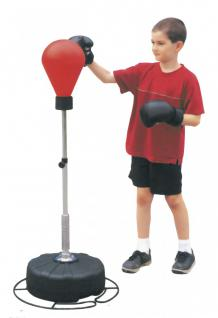 BOXING TRAINER SET PV-FORM SPEED BALL MIT STAND FUß