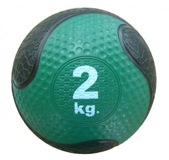 Medizinball Synthetik, 2Kg, ca. 20cm Durchmesser - Vorschau