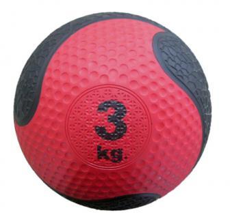 Medizinball Synthetik, 3Kg, ca. 20cm Durchmesser - Vorschau