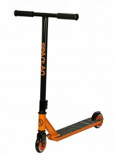 Stunt Scooter Alu Spartan Farbe: schwarz/ orange Art.23021 Top-Angebot 45€