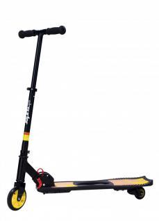 SCOOTER ALU KLAPPBAR JD AIR SURFER WAVESCOOTER gelb-orange