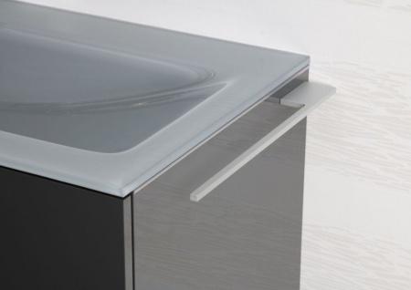 Handtuchhalter Bad aus Aluminium Design Accessoire Badetuchstange - Vorschau 2