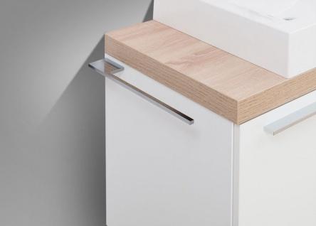Handtuchhalter Bad Chrom Handtuchreling Design bad accessoires Badetuchstange - Vorschau 5