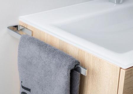 Handtuchhalter Bad Chrom Design Handtuchstange bad accessoires - Vorschau 3