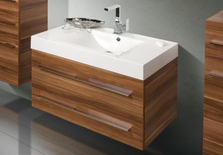 BadmÖbel Set BadezimmermÖbel Design Badset Inkl. Lichtspiegel + Waschtisch - Vorschau 3