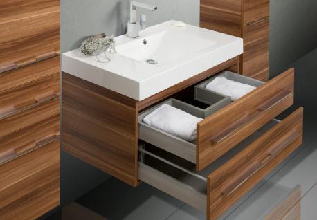 BadmÖbel Set BadezimmermÖbel Design Badset Inkl. Lichtspiegel + Waschtisch - Vorschau 4