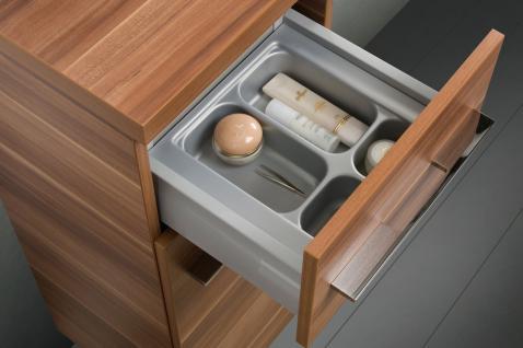 BadmÖbel Set BadezimmermÖbel Design Badset Inkl. Glaswaschtisch 90 Cm Neu - Vorschau 3