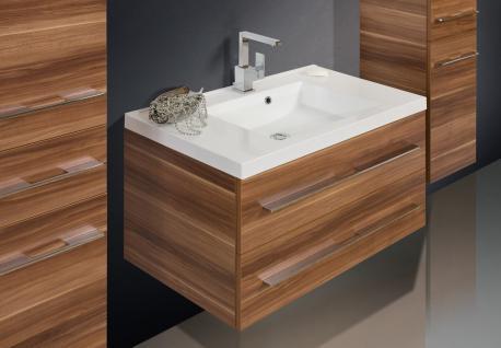 BadmÖbel Set BadezimmermÖbel Design Badset Mit 90 Cm Lichtspiegel + Waschbecken - Vorschau 3