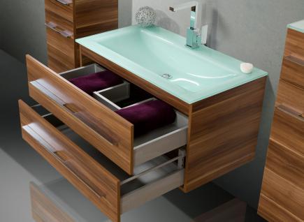 Badmobel 90 Cm ~ BadmÖbel set badezimmermÖbel design badset mit 90 cm glaswaschbecken