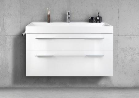 Badmöbel 100 cm Waschtisch mit Unterschrank, Waschtisch Set, Made in Gemany - Vorschau 1