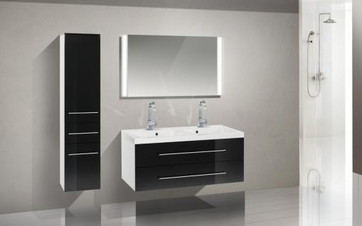 badm bel doppelwaschtisch g nstig kaufen bei yatego. Black Bedroom Furniture Sets. Home Design Ideas