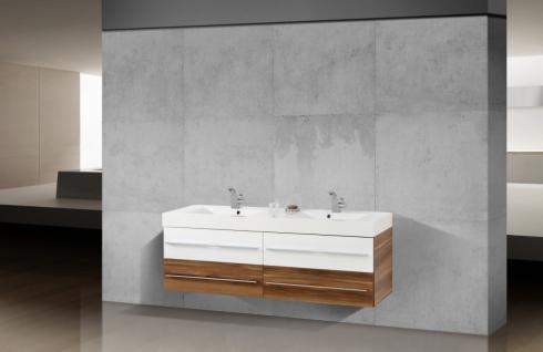 BadmÖbel Set Salerno BadezimmermÖbel Design Badset Mit 160 Cm  Doppelwaschtisch