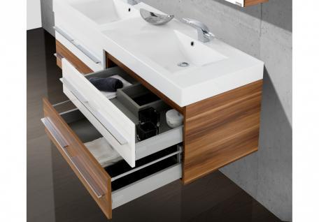 BadmÖbel Set Salerno BadezimmermÖbel Design Badset Mit 160 Cm Doppelwaschtisch - Vorschau 3
