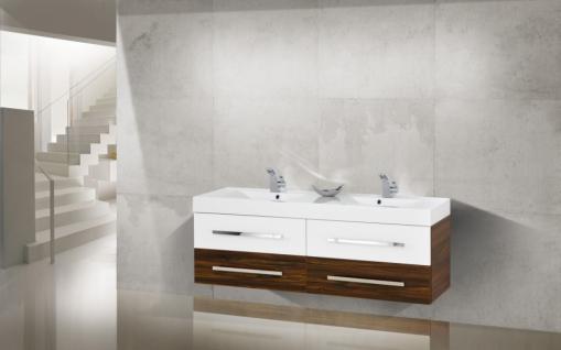 BadmÖbel Set Salerno BadezimmermÖbel Badset + 160cm Großer Doppelwaschtisch Neu - Vorschau 1