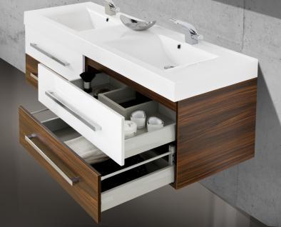 BadmÖbel Set Salerno BadezimmermÖbel Badset + 160cm Großer Doppelwaschtisch Neu - Vorschau 4