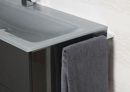 Handtuchhalter Bad Chrom Handtuchreling Design bad accessoires Badetuchstange - Vorschau 3