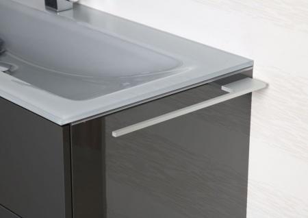 Handtuchhalter Bad aus Aluminium Design Accessoire Badetuchstange - Vorschau 5