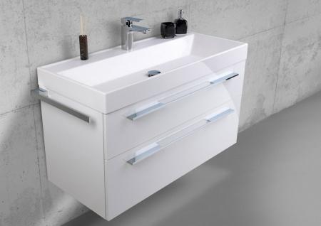 Badmöbel 100 cm Waschtisch mit Unterschrank, Waschtisch Set, Made in Gemany - Vorschau 2