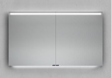 Badmöbel Set CUBO 120 cm Evermite Waschtisch, mit Led Spiegelschrank - Vorschau 5