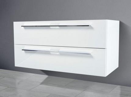 Unterschrank zu Duravit P3 Comforts 105 cm Waschtisch Becken rechts