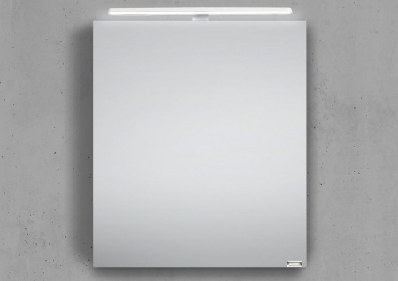 Spiegelschrank Bad 60 cm LED Beleuchtung doppelt verspiegelt