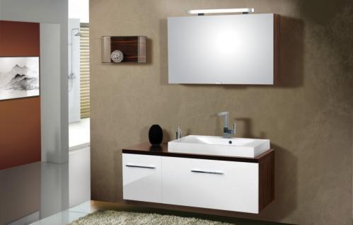 BadmÖbel Set Cremona BadezimmermÖbel Design Badezimmer Badset Waschtisch 80 Neu - Vorschau 1