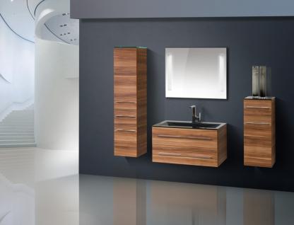 BadmÖbel Set Komplett BadezimmermÖbel Badset Inkl. 90 Cm Glaswaschtisch Neu - Vorschau 1