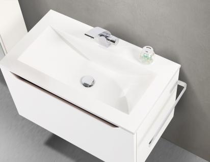 BadmÖbel Set Monza BadezimmermÖbel Ebenholz Design Badset Inkl. 80 Cm Waschtisch - Vorschau 3