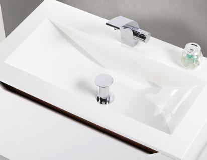 BadmÖbel Set Monza BadezimmermÖbel Ebenholz Design Badset Inkl. 80 Cm Waschtisch - Vorschau 4