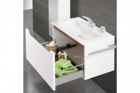 BadmÖbel Set Monza BadezimmermÖbel Design Badset Plus 80 Cm Waschtisch - Vorschau 3