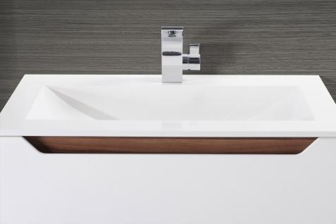 BadmÖbel Set Monza BadezimmermÖbel Design Badset Plus 80 Cm Waschtisch - Vorschau 4