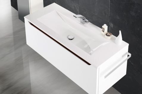 BadmÖbel Set Monza BadezimmermÖbel Design Badset Mit 120 Cm Waschtisch - Vorschau 3